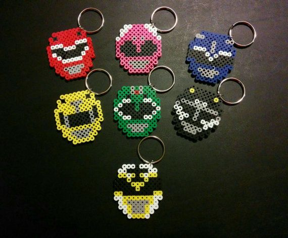 Hey, I found this really awesome Etsy listing at https://www.etsy.com/listing/242217994/mighty-morphin-power-rangers-perler-bead