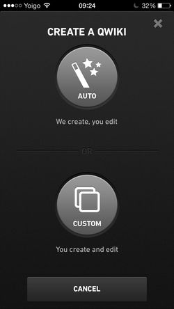 Qwiki for iPhone screenshot
