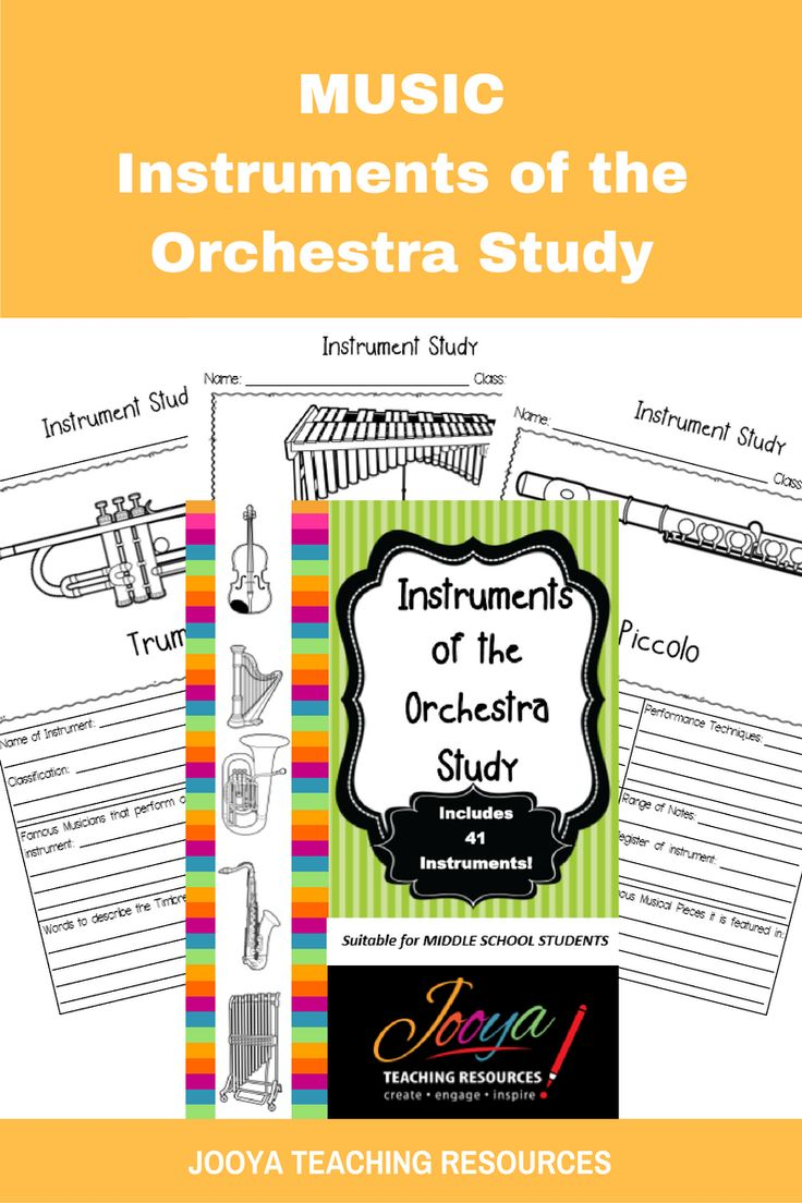 Worksheet Percussion Instruments Crossword 1000 images about instrument unit on pinterest elementary music instruments of the orchestra study from jooya teaching resources increase learning and engagement with