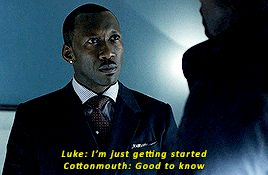 Cottonmouth and Luke Cage Power Man Marvel