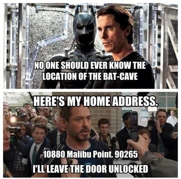 Mainly because Tony Stark is a badass.