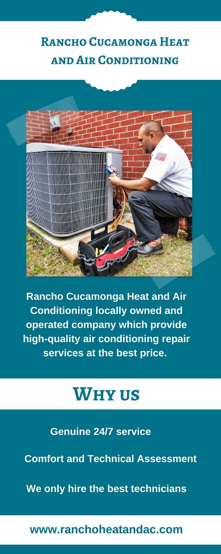 Rancho Cucamonga Heat and Air Conditioning offer professional heating and air conditioning services in Rancho Cucamonga and all the Inland Empire