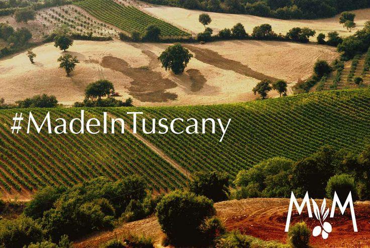 Dove lo trovate un #paesaggio così? Ogni #collina è una #meraviglia di #colori ed il #vento porta il #profumo delle #vigne e degli #uliveti. Il profumo dei veri #prodotti #MadeInTuscany.