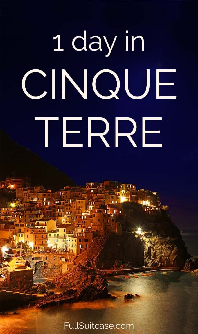 How to see the best of Cinque Terre in one day #italy #cinqueterre