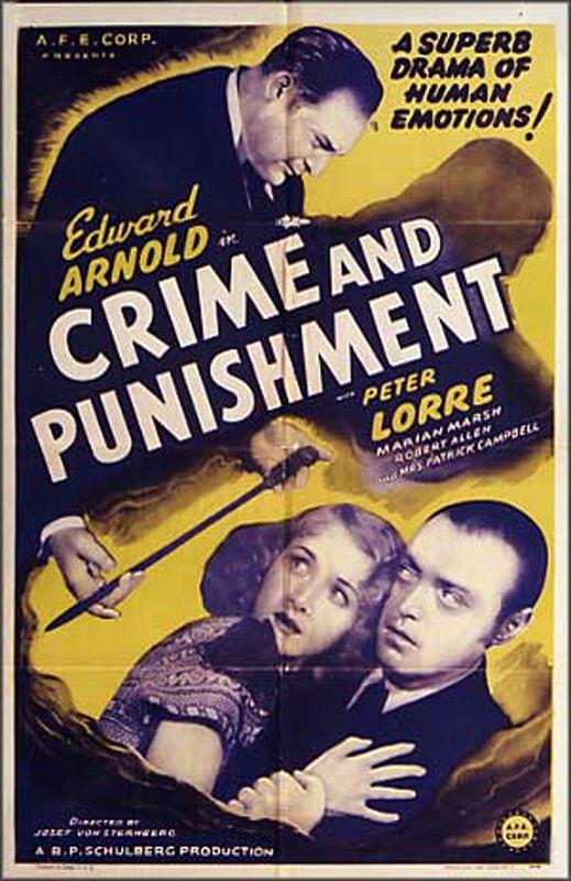 Crime e Castigo (1935) - IMDb