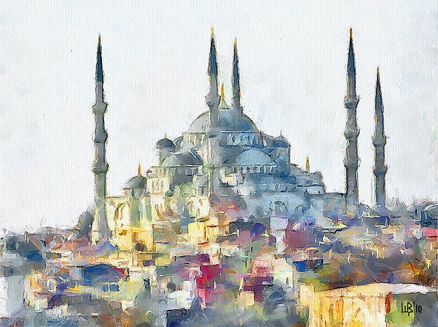 Blue Mosque, Istanbul by piker77, via Flickr
