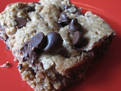How to Make White Bean Blondies: Oatmeal Cookies, Food Recipes, White Beans, Desserts Recipes, Peanut Butter Oatmeal, Eating, Healthy Food, Beans Blondi, Vegetarian Recipes