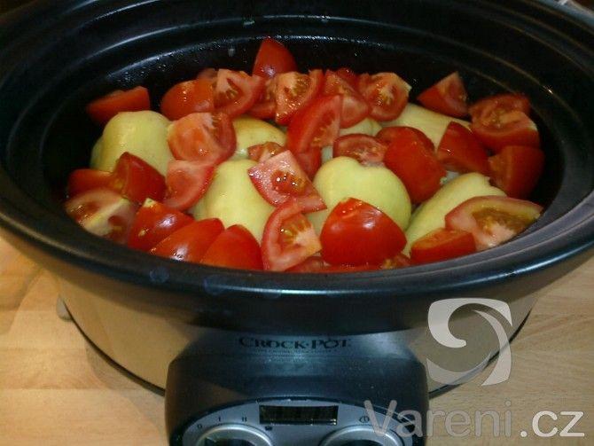 Recept Plněné papriky z pomalého hrnce - Plněné papriky z pomalého hrnce