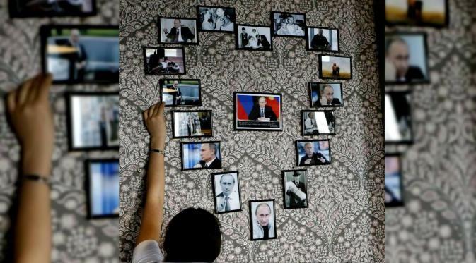 Global : Intip Isi Kafe Kota Kecil di Siberia Bertemakan Presiden Putin