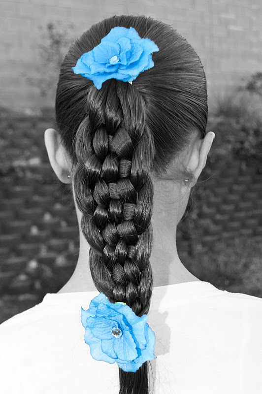 Beautiful multiple braids