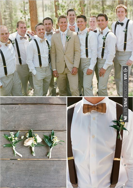 Love These For The Groomsmen Minus Bowties