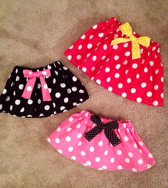 Minnie Mouse Pink dress up Skirt Disney princess 1st by MM4CC