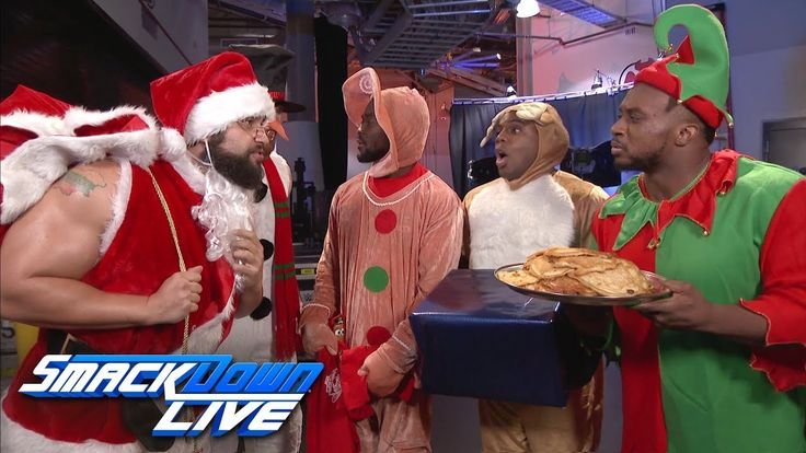 The New Day's holiday celebration is crashed by Rusev & English: SmackDown LIVE, Dec. 19, 2017 - YouTube