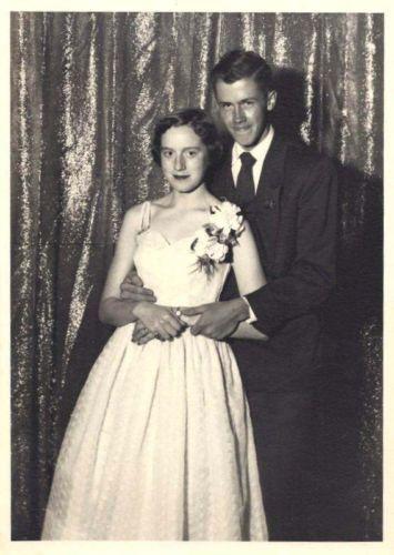 Neil Robertson Pat Bushnell at Prom 1953 Vintage Vernacular Photo   eBay