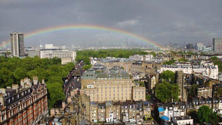 Unforgettable views over London's skyline from Knightsbridge