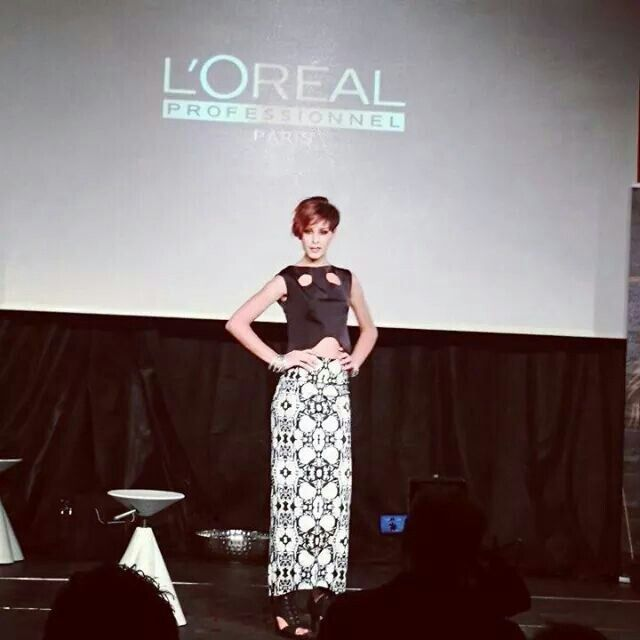 Fashion show l'Oreal