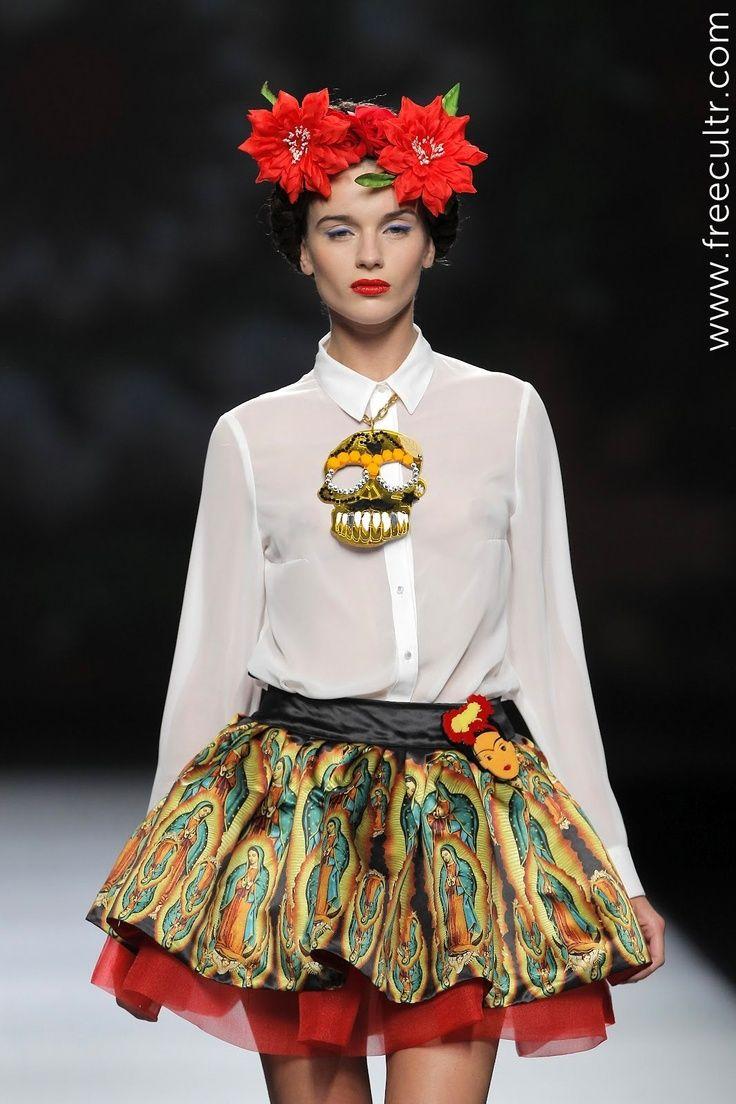 frida kahlo dress style frida kahlo inspired fashion art to wear 3 pinterest wardrobes. Black Bedroom Furniture Sets. Home Design Ideas