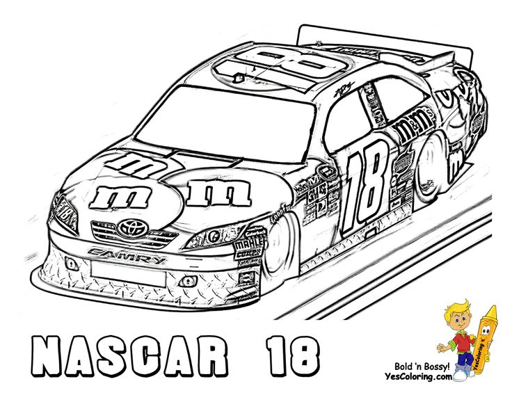 nascar coloring pages (With images) Race car coloring