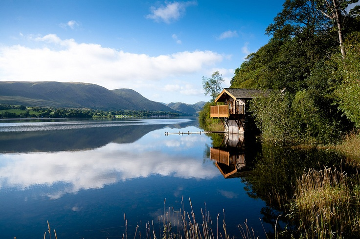 The Boat House at Ullswater in the Lake District. I waited for days until the weather was just right to take this photo. Finally after days of rain and wind the weather was perfect.