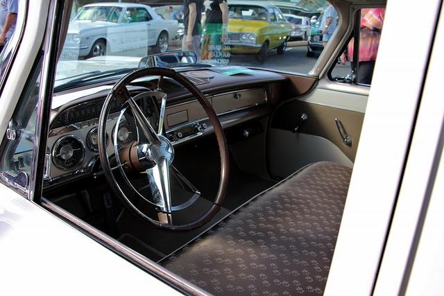 1959 Dodge Coronet sedan interior. Taken at the 2012 Kurri Kurri Nostalgia Festival, held in Kurri Kurri, New South Wales.     Our photo blog: http://divinumphoto.com