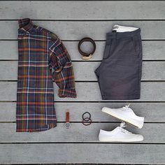 WEBSTA @ votrends - Awesome summer time look, love the Navy blue Outfit by: @grant_michaels_
