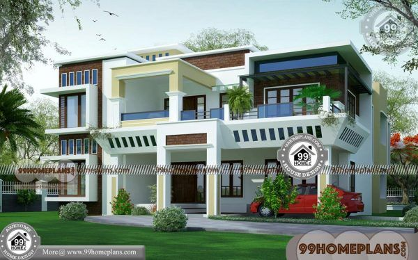 Two Storey Modern House 50 Box Type House Floor Plans New Designs Modern House Design Affordable House Design House Design