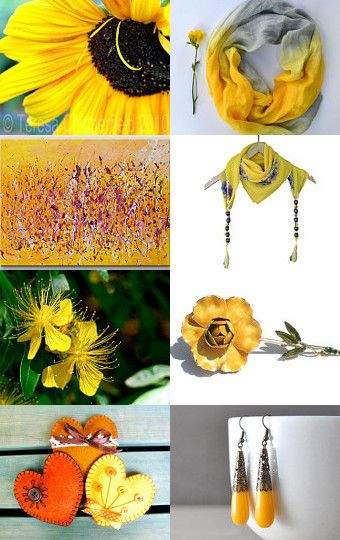 Sunny Yellow! by Paris Leigh Manville on Etsy--Pinned with TreasuryPin.com