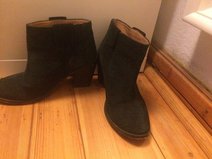 Mein Schwarze Ankle Boots Zara von Zara! Größe 39 für 30,00 €. Sieh´s dir an: http://www.kleiderkreisel.de/damenschuhe/hohe-schuhe/142938416-schwarze-ankle-boots-zara.