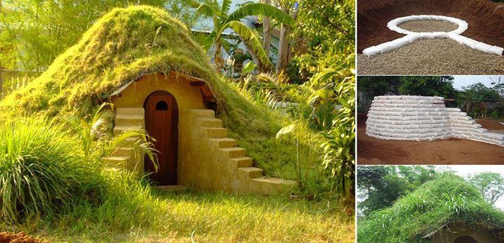 Adım adım Hobbit evi nasıl yapılır? (Galeri)