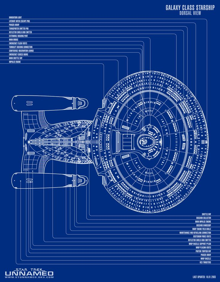 344 best star trek - u.s.s. enterprise ncc-1701 d images on pinterest, Schematic