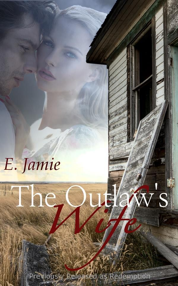 The Outlaw's Wife, a historic erotic novella, coming May 8! (previously published as Redemption) before we start with our first snippet: On the run from a murderous uncle, Katie Beaumont married outlaw Ben Cready the day before he was supposed to hang. They shared one night of explosive passion and for six months, she'd believed herself a widow. Now Ben is back to claim what's his, and that includes the sweet bride he'd never been able to forget.