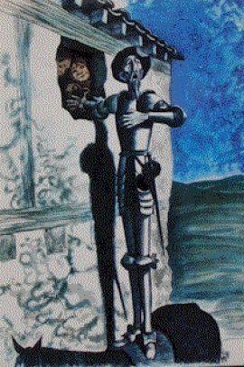 """Goñi:"""" Ilustración de El Quijote"""