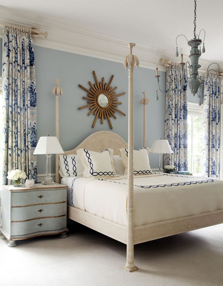 Blue And White Bedroom 332 best blue and white bedrooms images on pinterest | blue and