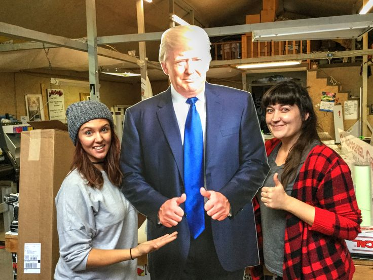 In this interview, we speak with Steve Cummings.  Steve is a creative genius at Creative Design and Screenprinting (and Secretary of the Cullman County Republican Party). Steve was the mastermind, designer, and human caddy for his slightly bigger-than-life sized cutout creation of soon-to-be President Donald J. Trump.  The standup cutout of the Candidate was made famous throughout Cullman County during the 2016 Presidential election cycle with frequent in-person and social media appearances.