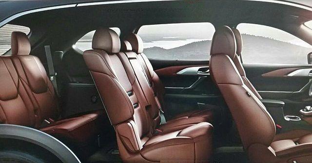 2016 Mazda CX-9 - interior seats