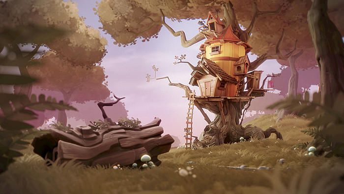 TreeHouse by ktysdal from blenderartists.org