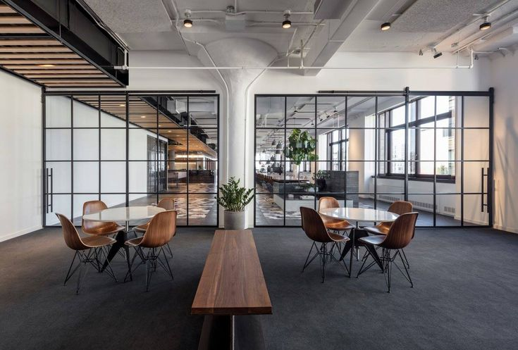 SY Partners Office  Designer: FORGE  Photographer: Magda Biernat    #sypartners #office #forge #tagwall #industrialsash #interiordesign #officedesign #walldesign #workspaces