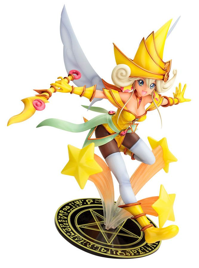 Yu-Gi-Oh!+The+Dark+Side+of+Dimensions+statuette+1/7+Lemon+Magician+Girl+Kotobukiya