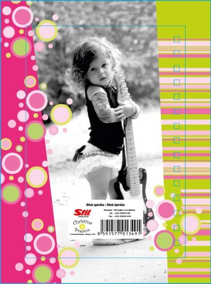 Spiral note pad with Still Trade