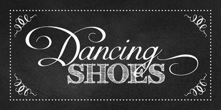 Wedding DANCING SHOES Sign, Chalkboard, Printable, DIY, Sign, Flip Flops, Dancing Shoes, Guest Shoes, Shoe Basket