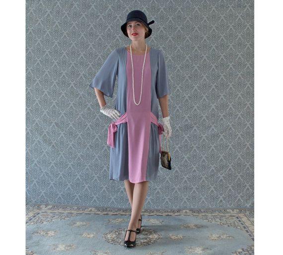 ... Gatsby dress, art deco dress, 1920s fashion, robe charleston, 1920er
