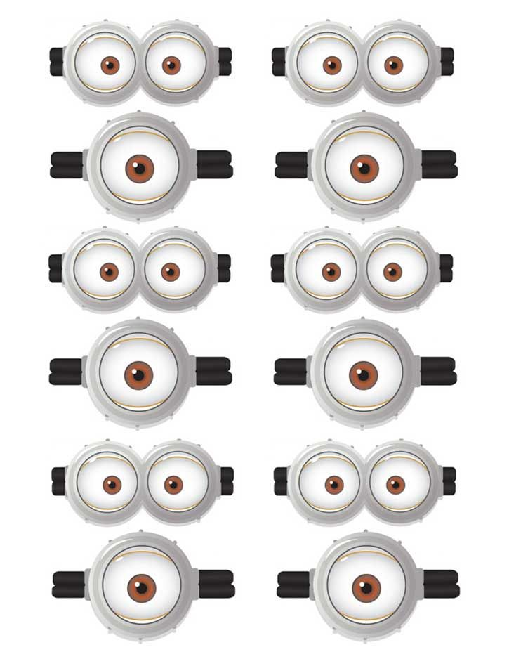 Playful image with regard to minion printable eyes