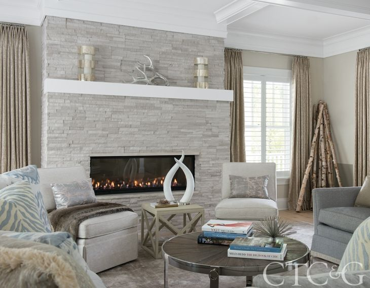 Best 25 ledger stone fireplace ideas on pinterest stone - Using stone in rustic gardens elegance and drama ...