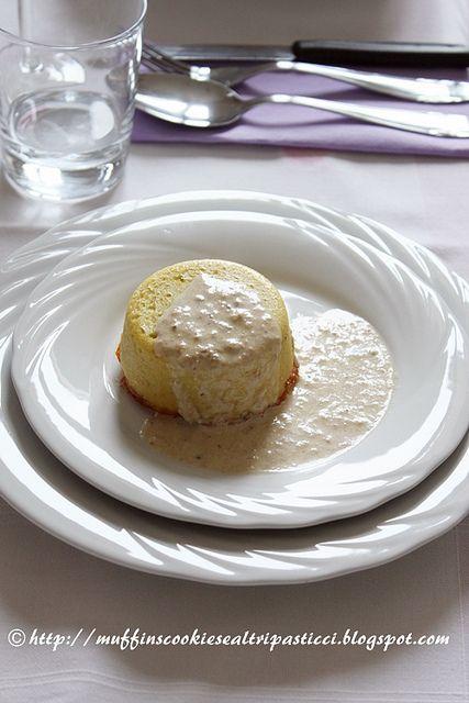 Sformatino di topinambour con salsa alle acciughe by **Alessia**, via Flickr