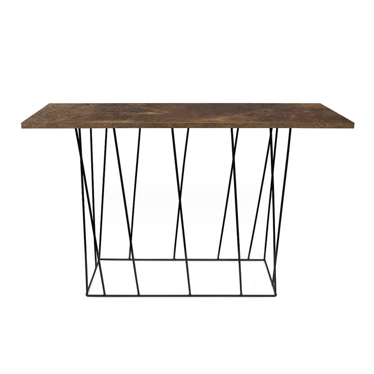 Helix wall console table