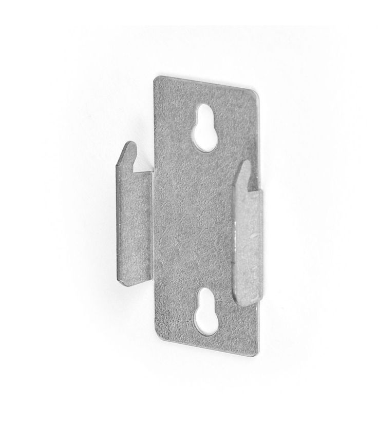 Kenney Double Curtain Rod Bracket-Pair