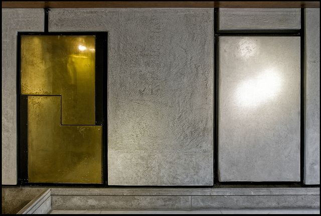 Carlo Scarpa detail @ Fondazione Querini-Stampala - Venice [1961-1963] photo by d.teil, via Flickr