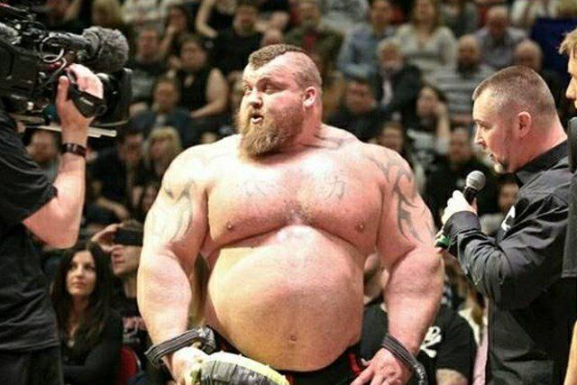 Eddie Hall As You Ve Never Seen Him Before With Images World S