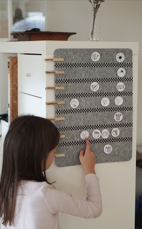 DIY-Wochenplaner für Kinder – Janina Rosin