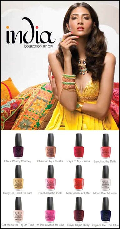 OPI India collection Spring/Summer 2008
